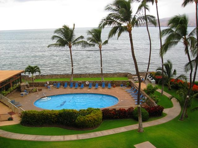 The view from our Lanai - On the Beach-2BR/Sleeps 6**Reserve Now for Summer 2017** - Kihei - rentals