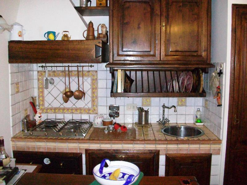 Tipical  florentine kitchen - FLORENCE APARTMENT- FURNISHED IN  FLORENTINE STYLE - Florence - rentals