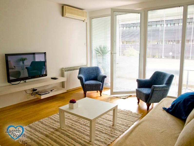 Living room - Central Point - Zagreb - rentals