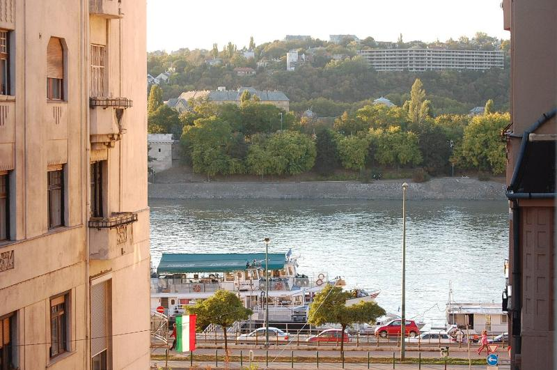window view , late falls - Danube river view 2 bedroom topfloor apartment - Budapest - rentals