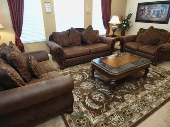 Living Area - CYP5P112CPC 5 BR Super Lux Pool Home with a View - Davenport - rentals
