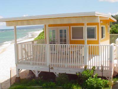 NORTH SHORE BEACH FRONT STUDIO Amazing beach studio! 2 guests max Owen's Retreat  Since 1960 - North Shore Mokuleia Beach Front Orange Cottage - Waialua - rentals