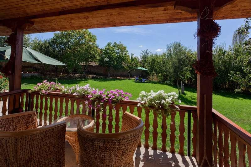 Porch daytime - Countryside Villa - Steps from the forest and lake - Malko Dryanovo - rentals