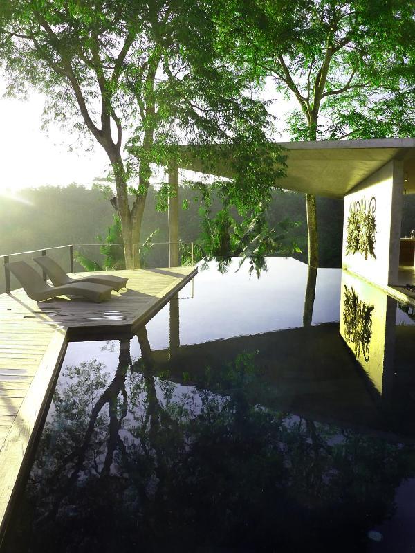 Swimming Pool - Umah Tampih, 3 bedroom villa in Ubud, Bali - Ubud - rentals