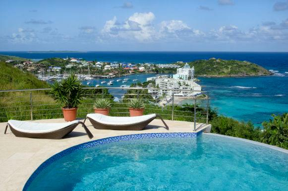 Summerwinds Villa...Oyster Pond, Dutch St. Maarten - SUMMERWINDS VILLA...hillside with stunning ocean views in Oyster Pond - Oyster Pond - rentals
