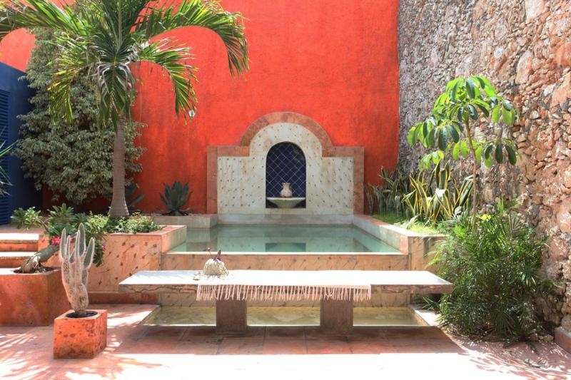Casa Granada's Pool and Garden - Casa Granada-Colonial in Perfect Centro Location - Merida - rentals