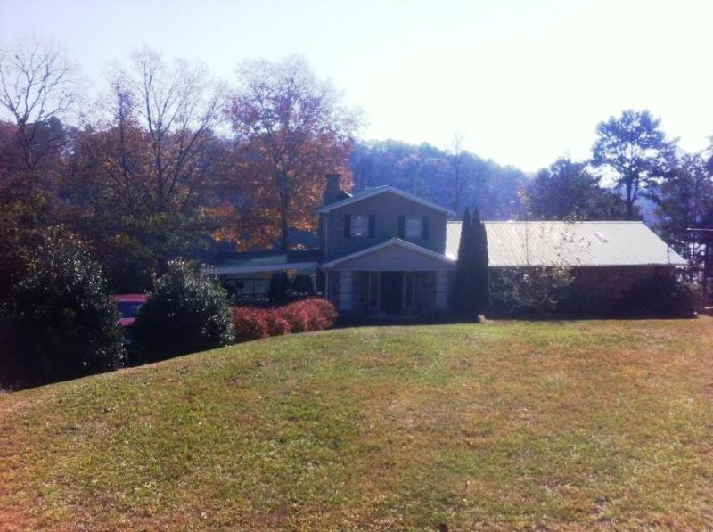 House from Street - Lewis Smith Lake - Waterfront Home in Alabama - Arley - rentals