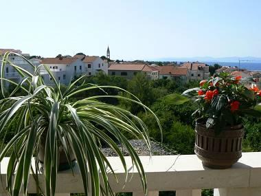 A3 potkrovlje(4+1): terrace view - 4910  A3 potkrovlje(4+1) - Supetar - Supetar - rentals