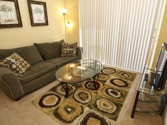 Living Area - VC3C5000CD-208 Modern 3 Bedroom Condo with Modern Amenities and WIFI - Orlando - rentals