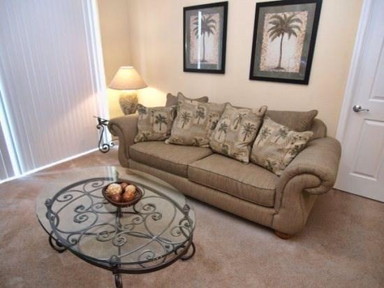 Living Area - VC2C4814CD-207 2 Bedroom Condo Close to Local Attractions - Orlando - rentals