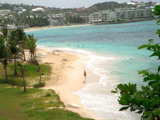 Alexandra...walk to Dawn beach, Dutch St. Maarten - DAWN BEACH VILLA ( FORMERLY ALEXANDRA)...overlooks beautiful Dawn Beach on the island of St. Maarten - Saint Martin-Sint Maarten - rentals
