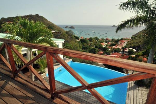 Well decorated, spacious villa with a nice view over Corossol bay WV VSM - Image 1 - Saint Barthelemy - rentals