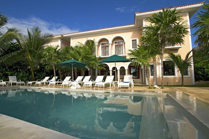 Hacienda Corazon Poolside - Hacienda Corazon Beach Front 5-10 BR Amazing Villa - Puerto Aventuras - rentals