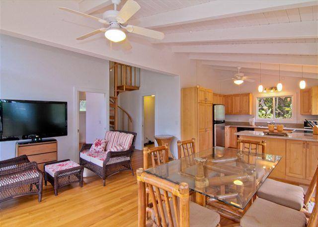 MBC:1bdr /1 bath cottage, in lush jungle setting and just steps to the ocean! - Image 1 - Anahola - rentals