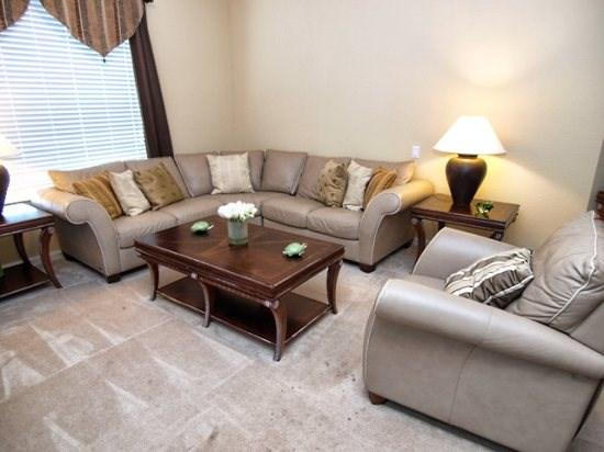 Living Area - VC3C5036SL-303 3 Bedroom Condo with 2 Rollaways Available - Orlando - rentals