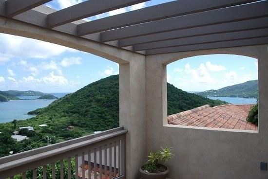 Magnificent view from multiple levels  decks - VillAllure - Coral Bay - rentals