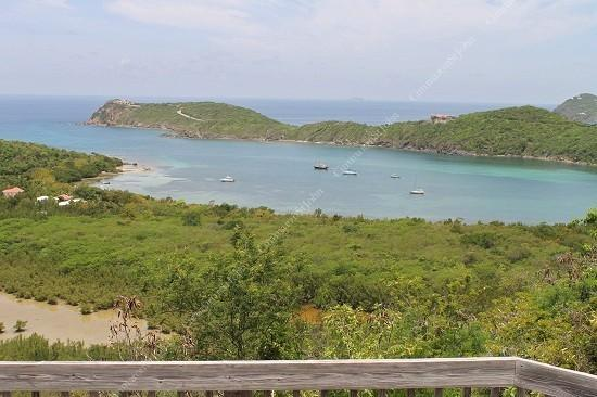 Spectacular views of Fish Bay and the Caribbean Sea abound from the private decks at this hillside retreat - Sundancer Villa - Saint John - rentals