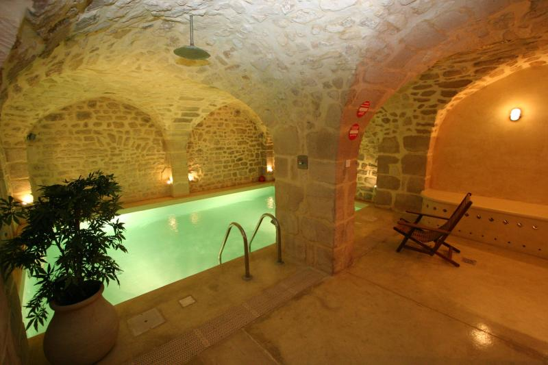 Heated private pool, next to the gym - Maison d'Anne - Paris Historic BnB - Paris - rentals
