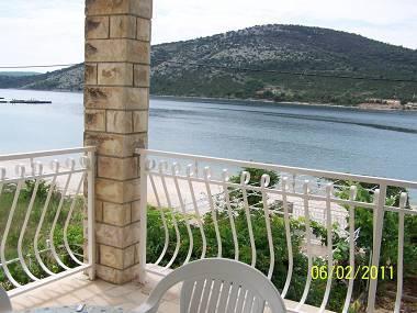 A3(4+1): terrace view - 4914 A3(4+1) - Vinisce - Vinisce - rentals