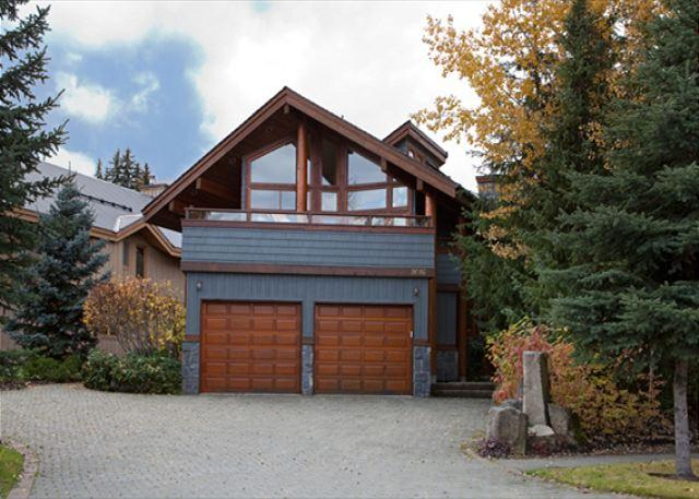Front Exterior of Property - Glacier View Chalet | Wood-Burning Fireplace, Scenic Views, Private Hot Tub - Whistler - rentals