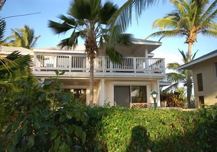 Front view of Villa - Antigua Villa Rental, St James Club, Mamora Bay. - Antigua and Barbuda - rentals