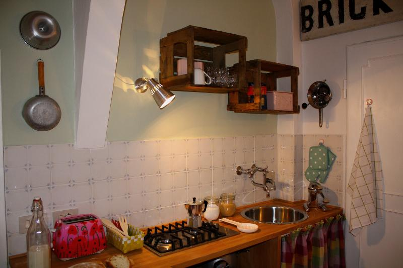kitchen - Nice 1 Bedroom Vacation Apartment in Downtown Florence - Florence - rentals