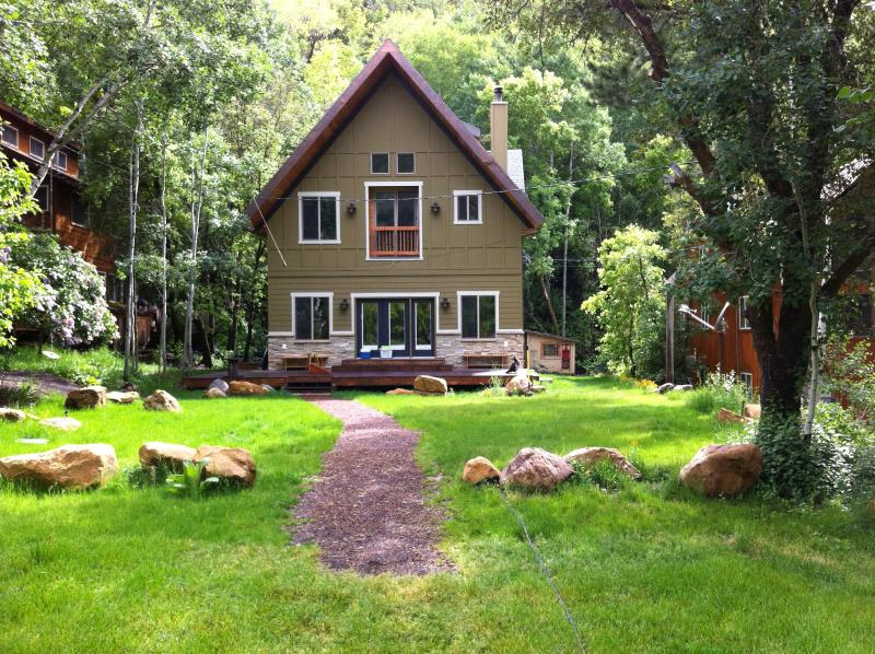 Shadyside Cabin in Summer - Cosy Secluded Cabin - Provo Canyon Near SundanceUT - Sundance - rentals