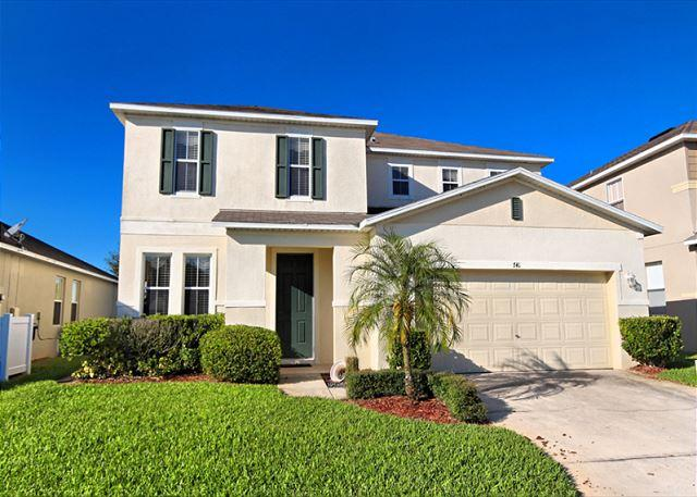 Front View - EAGLE VIEW: 4 Bedroom Home with 2 Master Bedrooms and Private Pool and Spa - Davenport - rentals