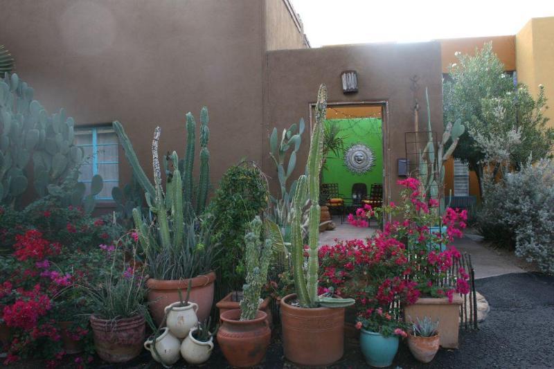 Casita Entry - La Casita Del Sol - Tucson - rentals