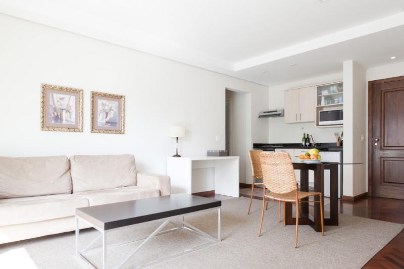 1 Bedroom Apartment with Pool in Jardins - Image 1 - Sao Paulo - rentals