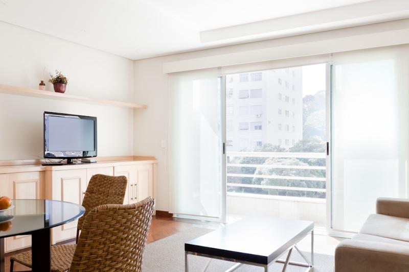 1 Bedroom Apartment with Pool in Jardins - Image 1 - Sao Paulo - rentals