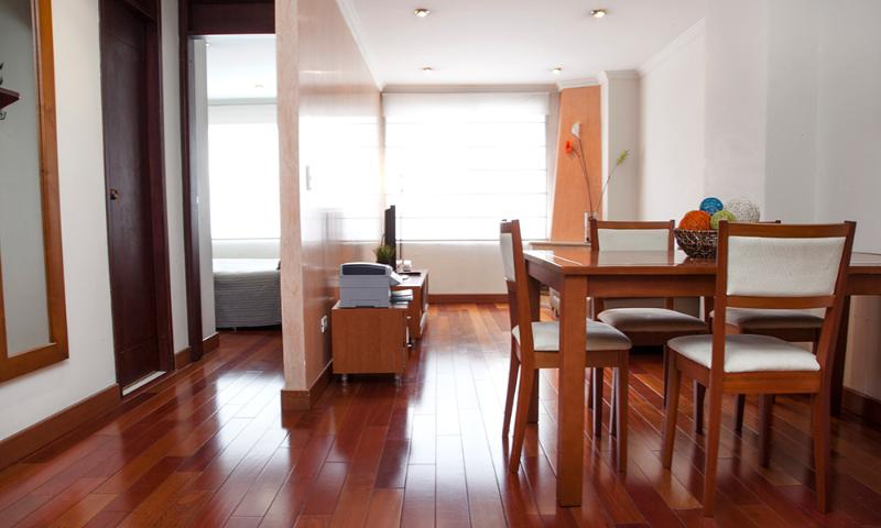 Modern 1 Bedroom Apartment in Zona T - Image 1 - Bogota - rentals