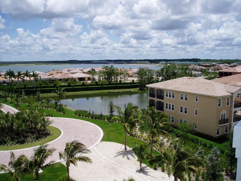 Bedroom balcony view - Penthouse Condo at Miromar Lakes - by owner - Estero - rentals