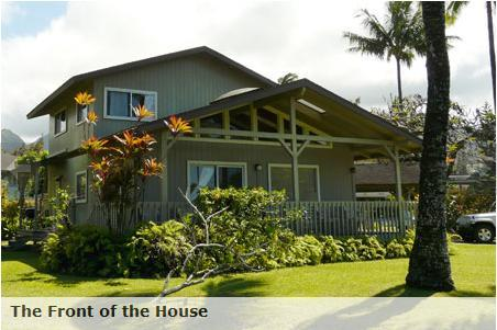 The Miller House at Hanalei - The Miller Hanalei House,  200 Yards to the Beach - Hanalei - rentals