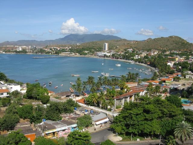 VISTA DESDE LA TERRAZA - Apart Bellisima Vista mar y playa  Bahia Pampatar - Pampatar - rentals