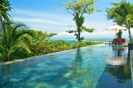 Magnificent, hilltop Casa Paraiso with full staff, infinity pool & private balcony off every room - Image 1 - Manuel Antonio - rentals