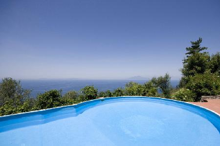 Villa Venere - Modern secluded villa 5 minutes from main square with stunning views & pool - Image 1 - Capri - rentals