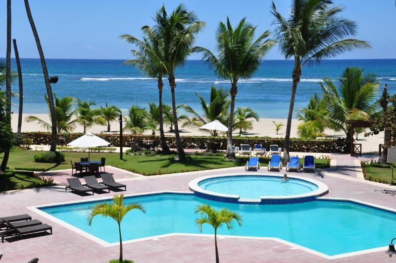balcony view - Beach Front Paradise - Juan Dolio - rentals
