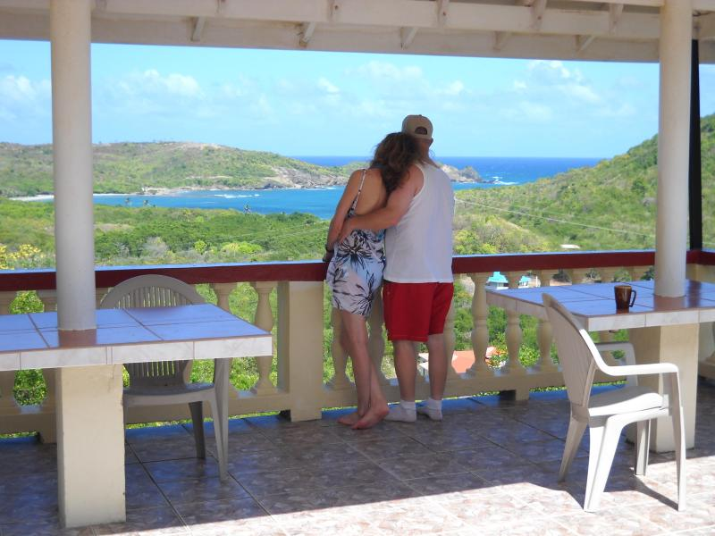 Feel the breeze and enjoy the panoramic view - Caribbean Vacation With Stunning Ocean View - Gros Islet - rentals