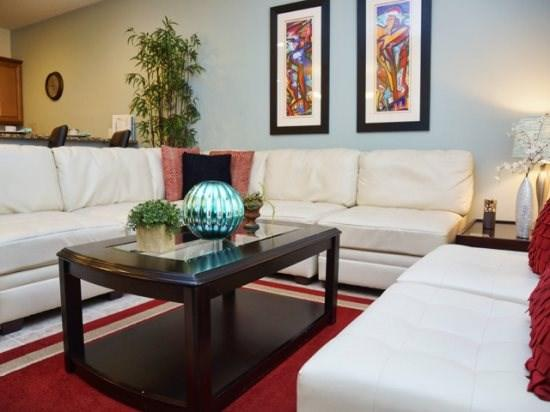 Living Area - PP4T8956CPR 4BR Lavish Town Home with Modern Decors - Orlando - rentals