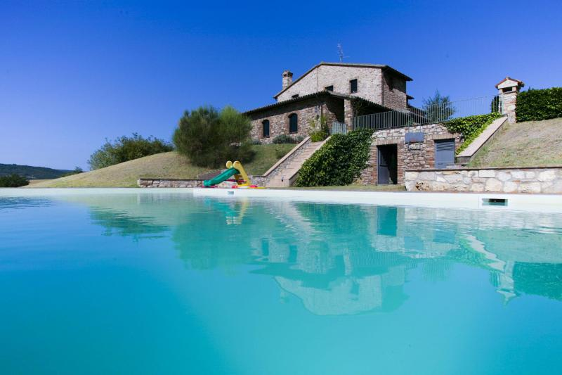 the pool - Santamaria: a former 15th century priory, sleep 12 - Todi - rentals