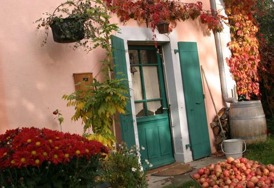 Entrance door - Attic in XIXth century house in the Alps - Fillinges - rentals