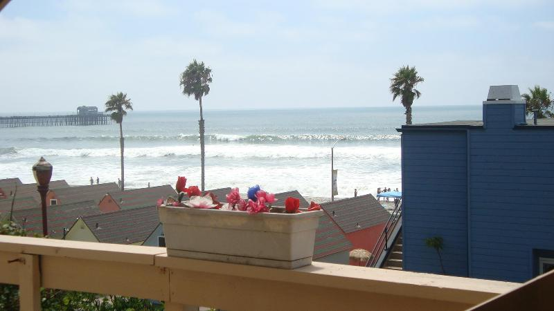 another view from balcony - Romantic Beach Apt. - Oceanside - rentals