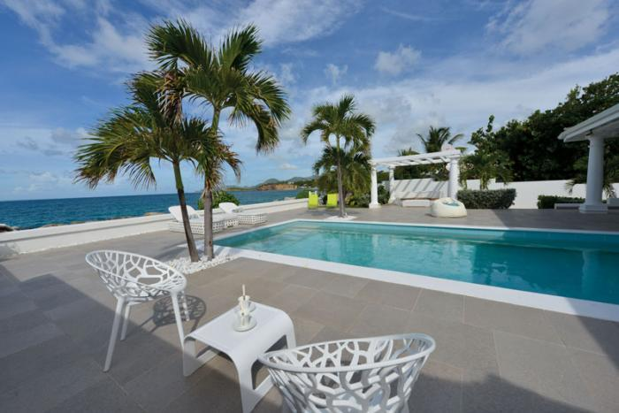 La Perla Bianca at Baie Rouge Beach, Saint Maarten - Beachfront, Pool, Romantic Getaway - Image 1 - Terres Basses - rentals