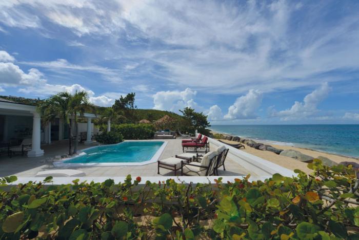 La Perla Classic at Baie Rouge Beach, Saint Maarten - Beachfront, Pool, Jacuzzi - Image 1 - Terres Basses - rentals