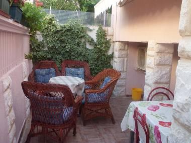 A4(4+1) Superior: terrace - 4916  A4(4+1) Superior - Grebastica - Grebastica - rentals