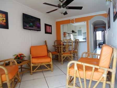 Sala con Televisor Pantalla Plana - Bay view Pool steps to Beach for Families perfect - Magdalena - rentals