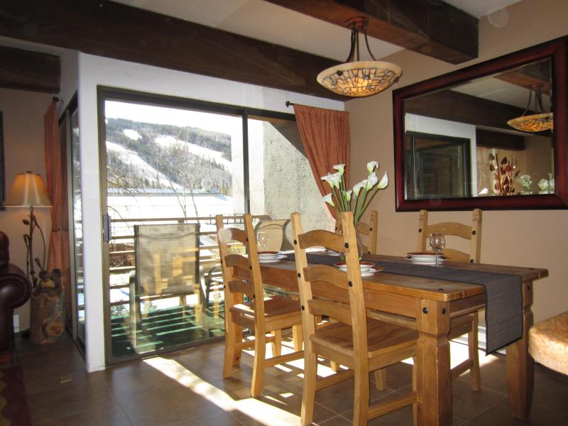 Welcome! Runs right outside our window! - WALK to Villages/Gondola & Hospital~Vail/Lionshead - Vail - rentals