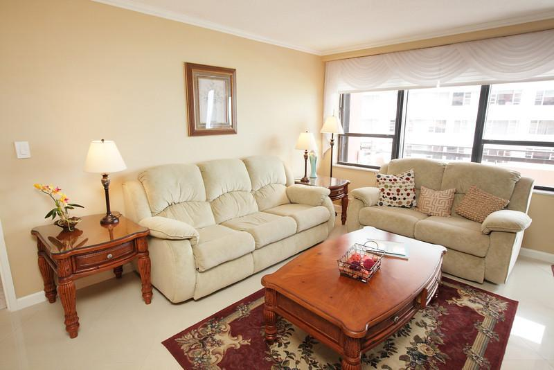 Living Room - Fantastic Suite at The Alexander Hotel - 1210 - Miami Beach - rentals