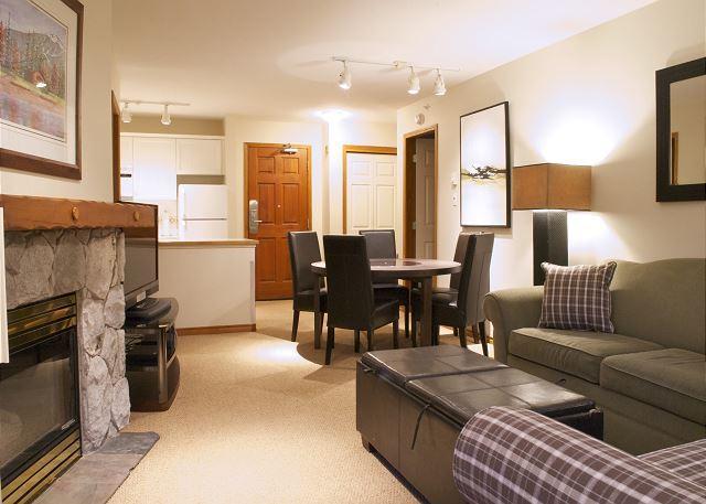 Aspens #547, Top Floor 2 Bdrm, Ski in Ski out, Mountain View, Free Wifi, BBQ - Image 1 - Whistler - rentals